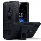 Sony Xperia XZ2 Rugged Armour Deksel - Black thumbnail