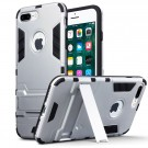 Armour Case Med Kickstand  til  iPhone 8 Plus -  Silver thumbnail