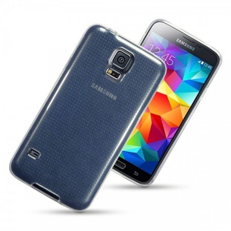 Samsung Galaxy S5 - TPU Gel Deksel - Transparent