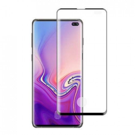 Samung Galaxy S10 PLUS - Edge to Edge Skjermbeskytter av Herdet Glass