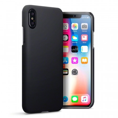 Apple iPhone XS - Hybrid Deksel -  Black