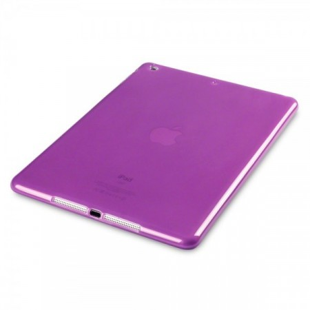 .Apple iPad Air - TPU Gel Deksel - Lilla