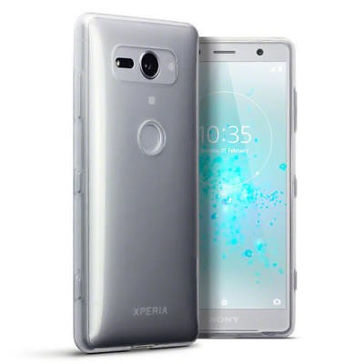 Sony Xperia XZ2 Compact- TPU Gel Case Med Nøyaktig Passform -Crystal Clear
