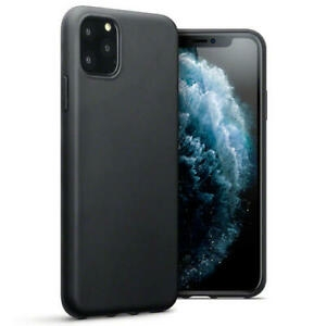 Apple iPhone 11 PRO MAX - Fleksibelt Silikon Deksel  - Black Matte