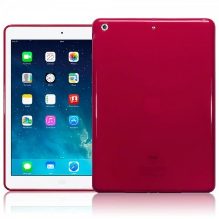 Apple iPad Air - TPU Gel Deksel - Red