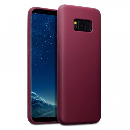 Samsung Galaxy S8 PLUS TPU Gel Deksel-  Burgundy