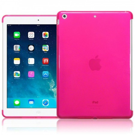 Apple iPad Air - TPU Gel Deksel - Hot Pink