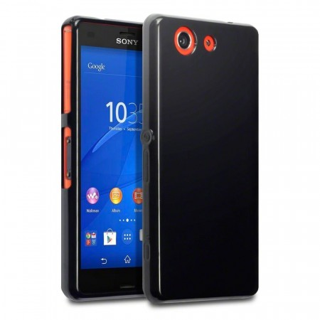 Sony Xperia Z3 Compact-  Gel Deksel - Solid Black