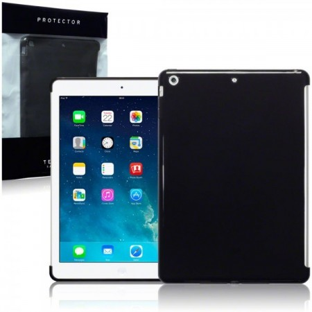 Apple iPad Air - TPU Gel Deksel - Smoke Black